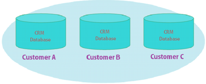SaaS CRM – Multi-Tenant vs. Single-Tenant Database